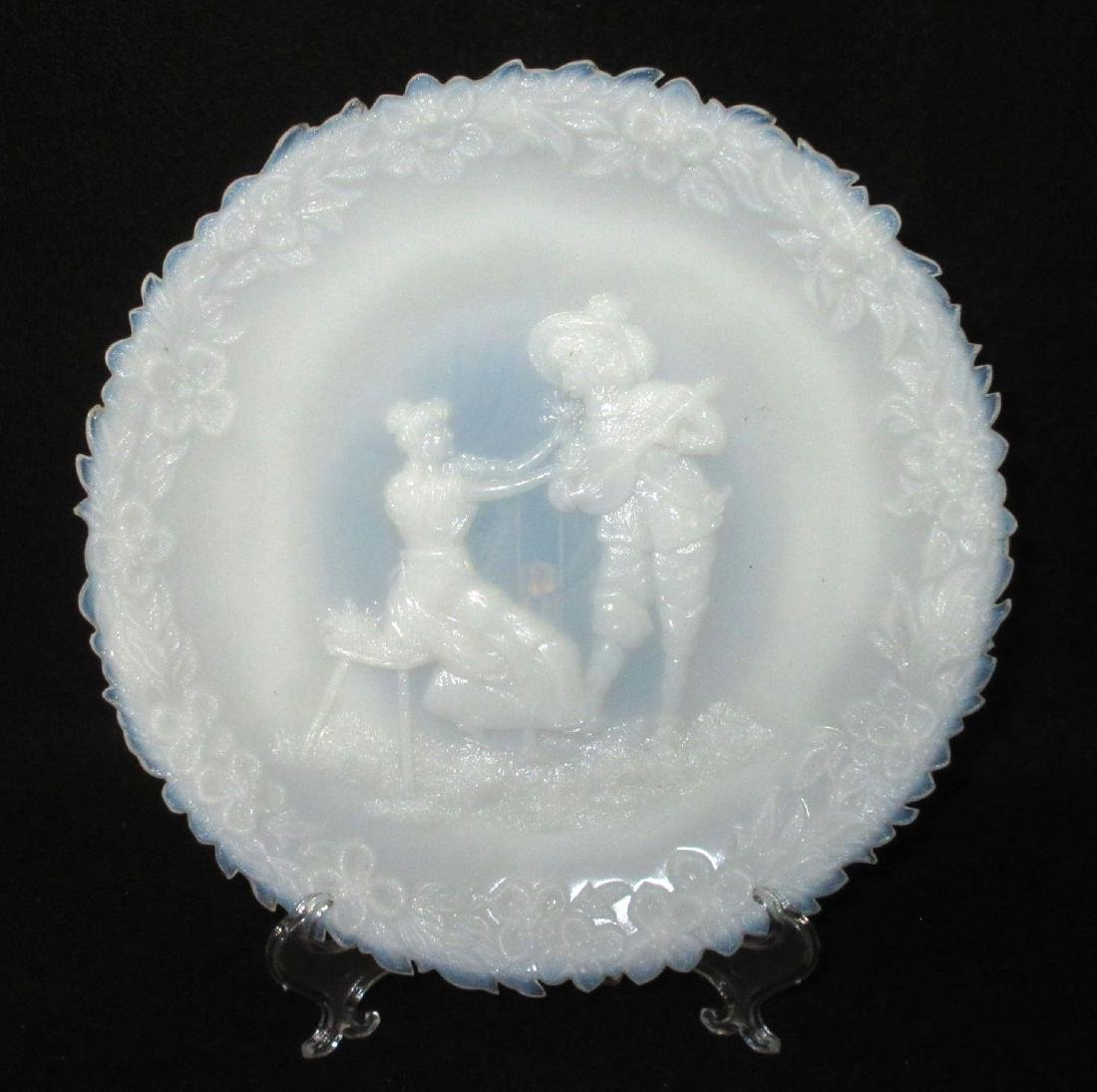 Opalescent 2 Lovers Plate