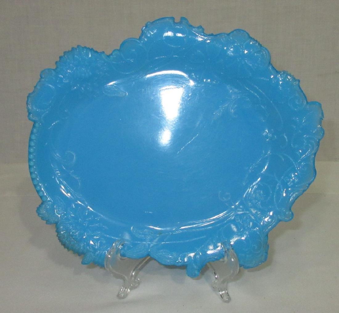 Blue Opaline Tray