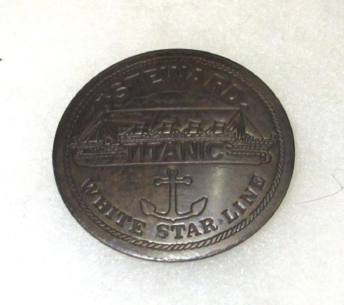 Modern Titanic Steward Badge