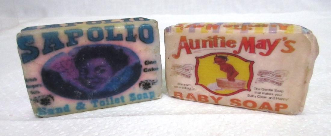 2 Bars Black Memorabilia Soap