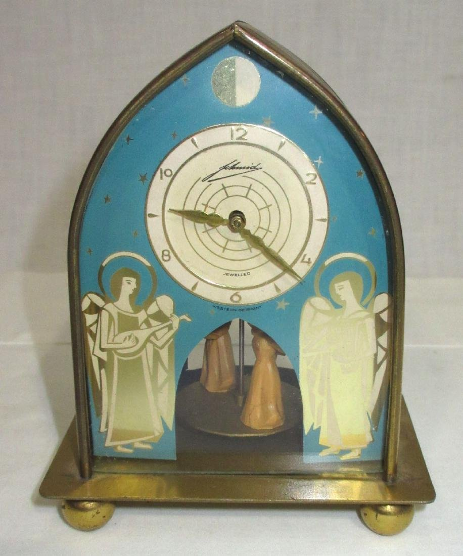 Schmid Mechanical Merry Go Round Clock