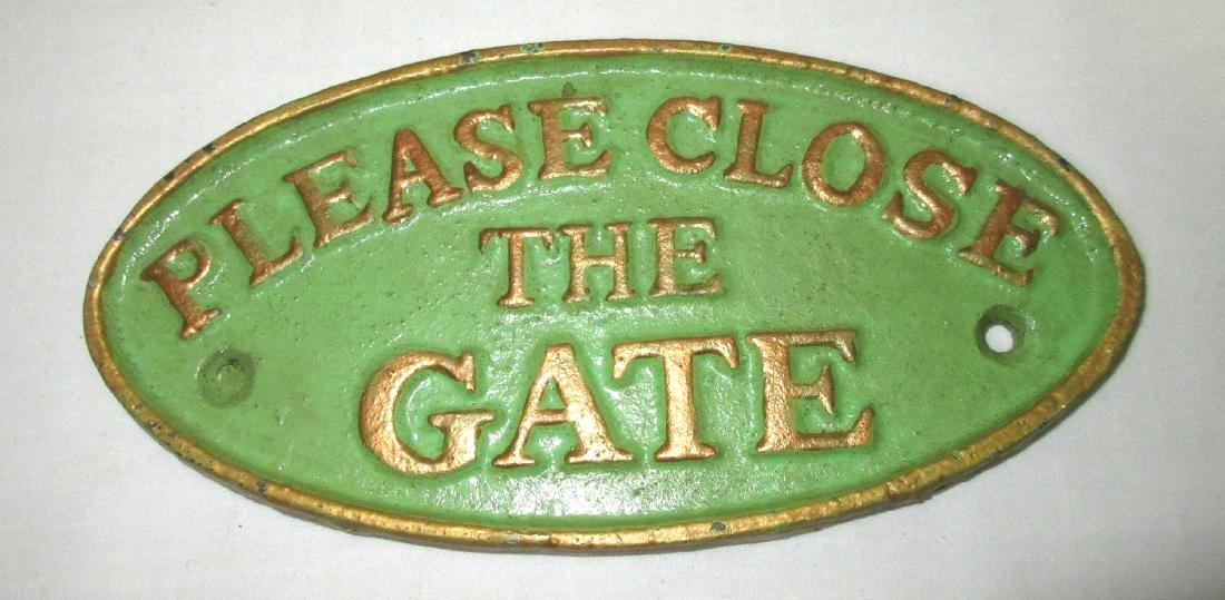 """C.I. """"Close the Gate"""""""