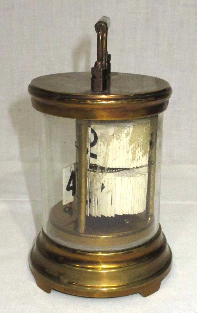 "Brass & Glass ""The Plato Clock"" - 2"