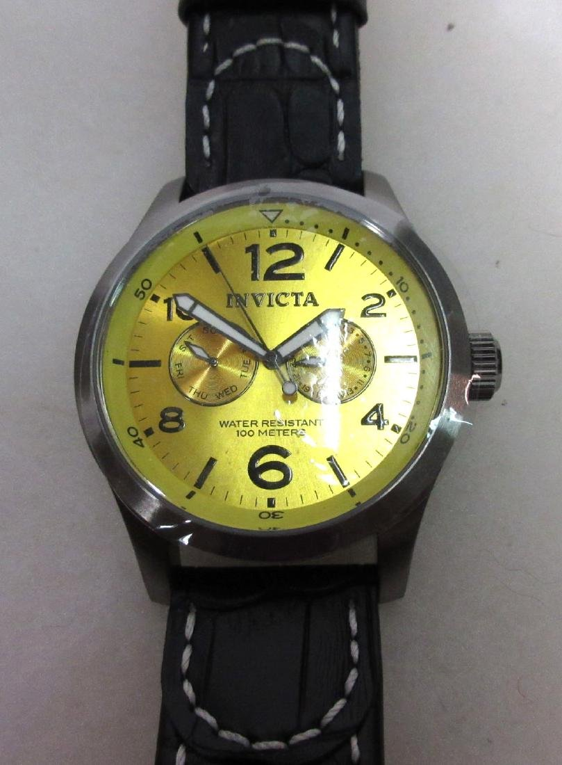 New Invicta Chronograph