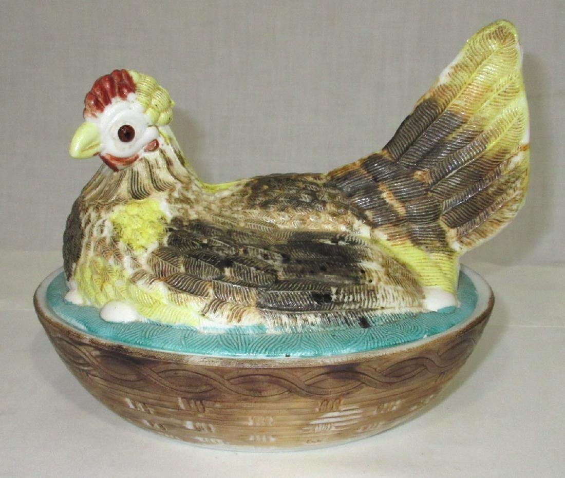 H.P. Hen on Nest
