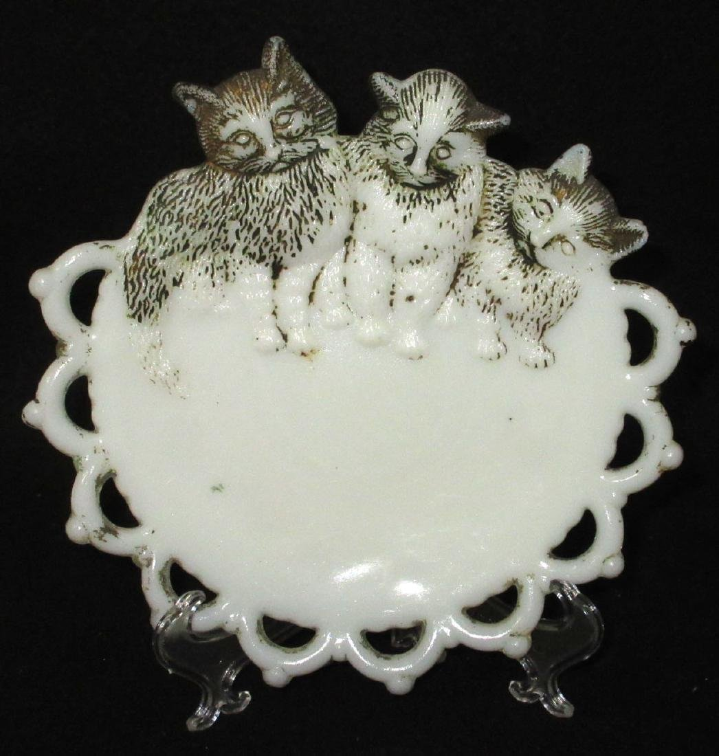 Vict. 3 Kittens Plate