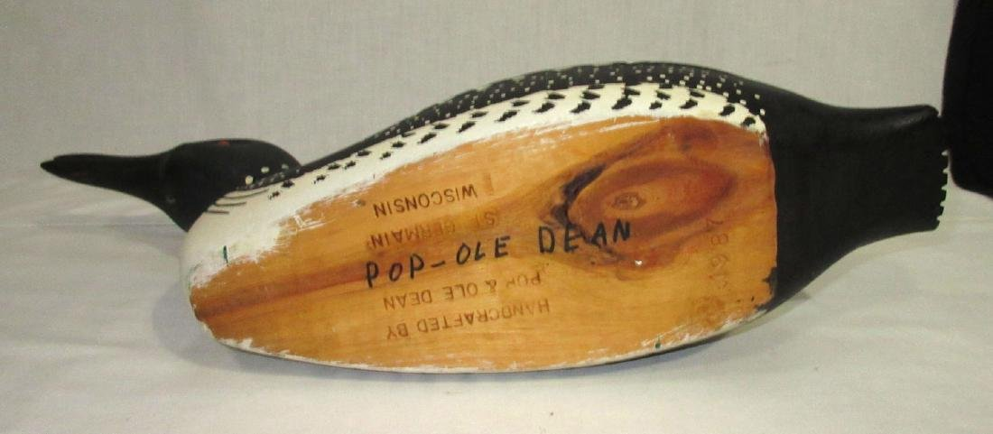 Wooden Loon Decoy - 4