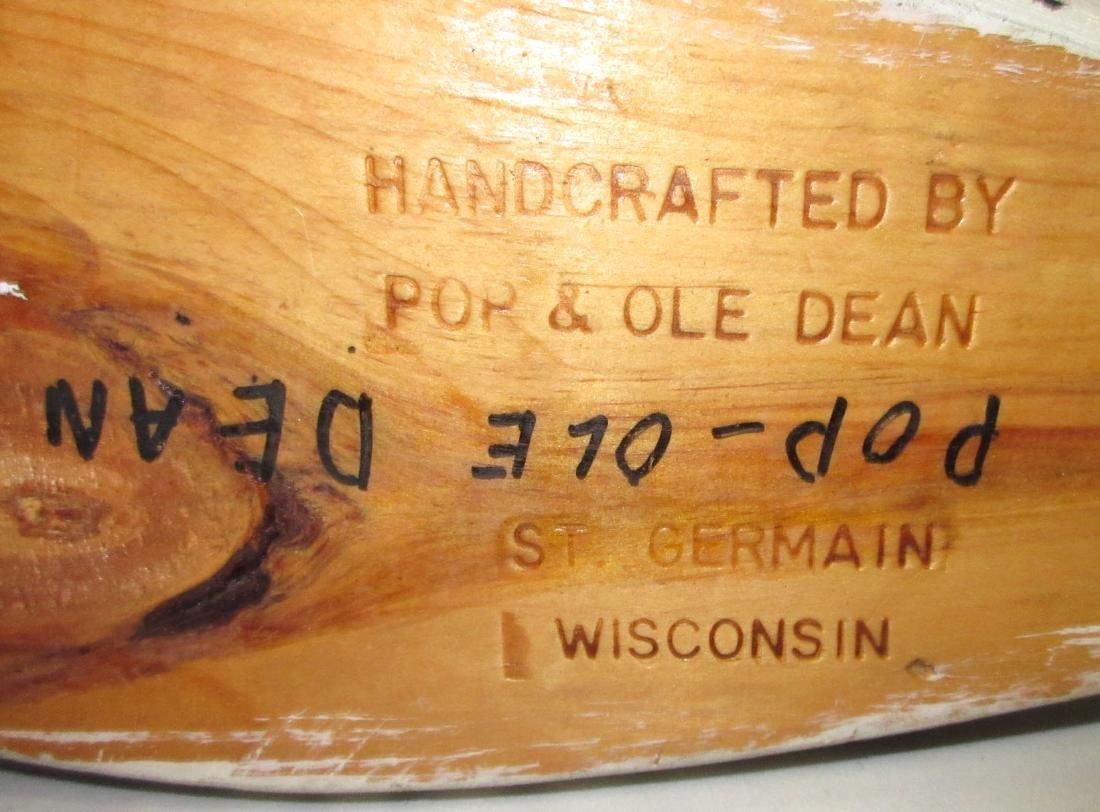 Wooden Loon Decoy - 5