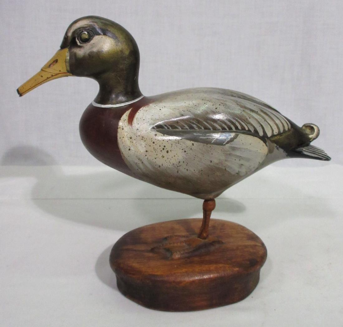 Wooden Standing Duck Decoy