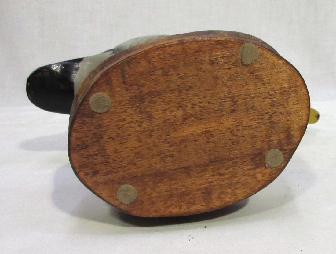 Wooden Standing Duck Decoy - 4