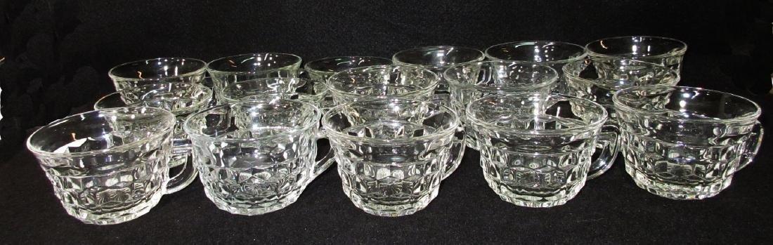 16 American Fostoria Cups