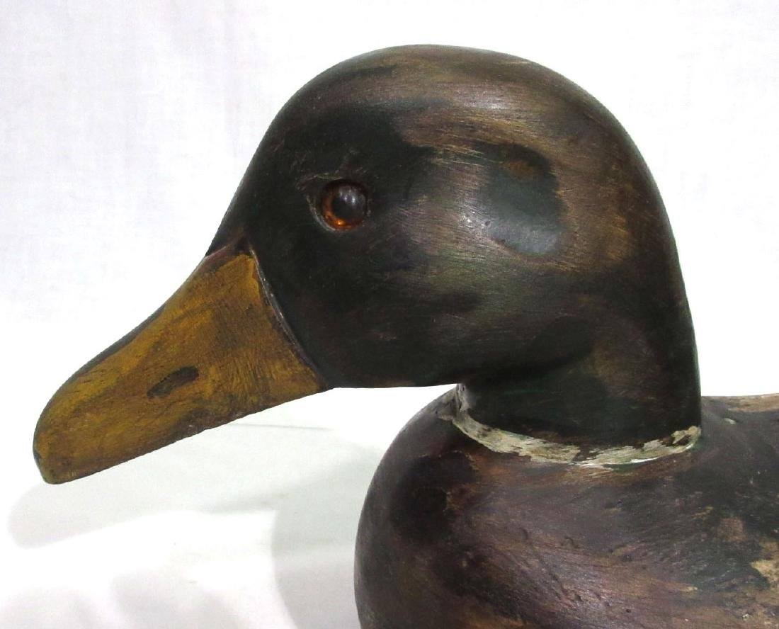 Wooden Duck Decoy - 2