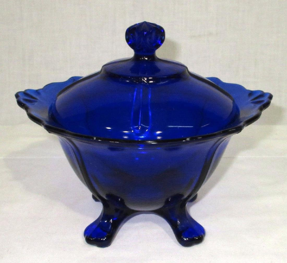 Cobalt Lidded Candy
