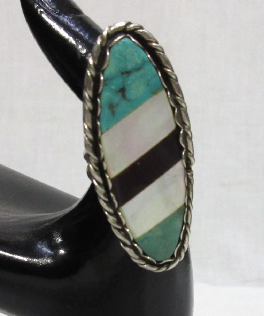 Navajo Sterling & Inlaid Ring