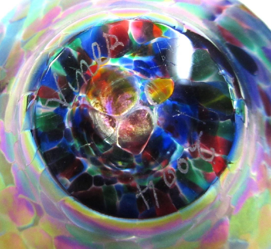 Art Glass Perfume Bottle - 3