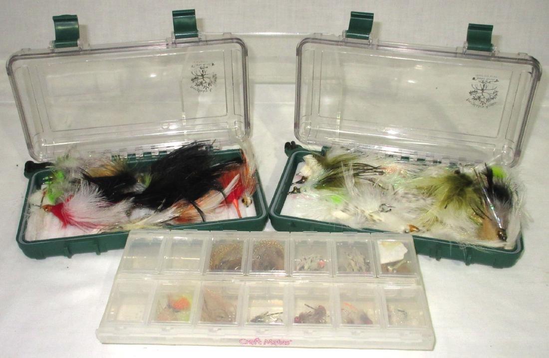 3 Boxes Fishing Flies