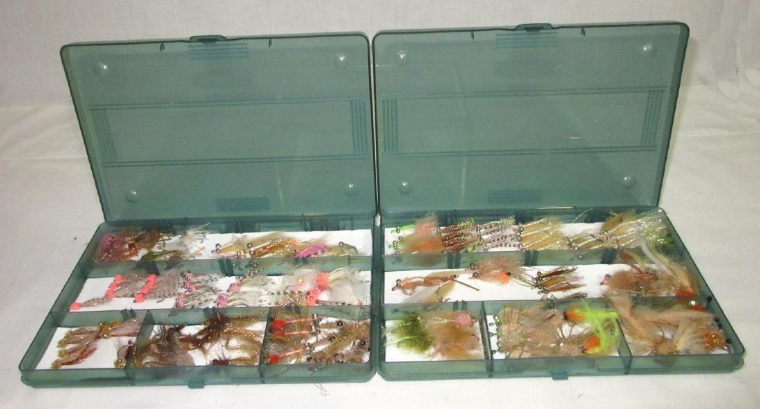 2 Boxes Fishing Flies