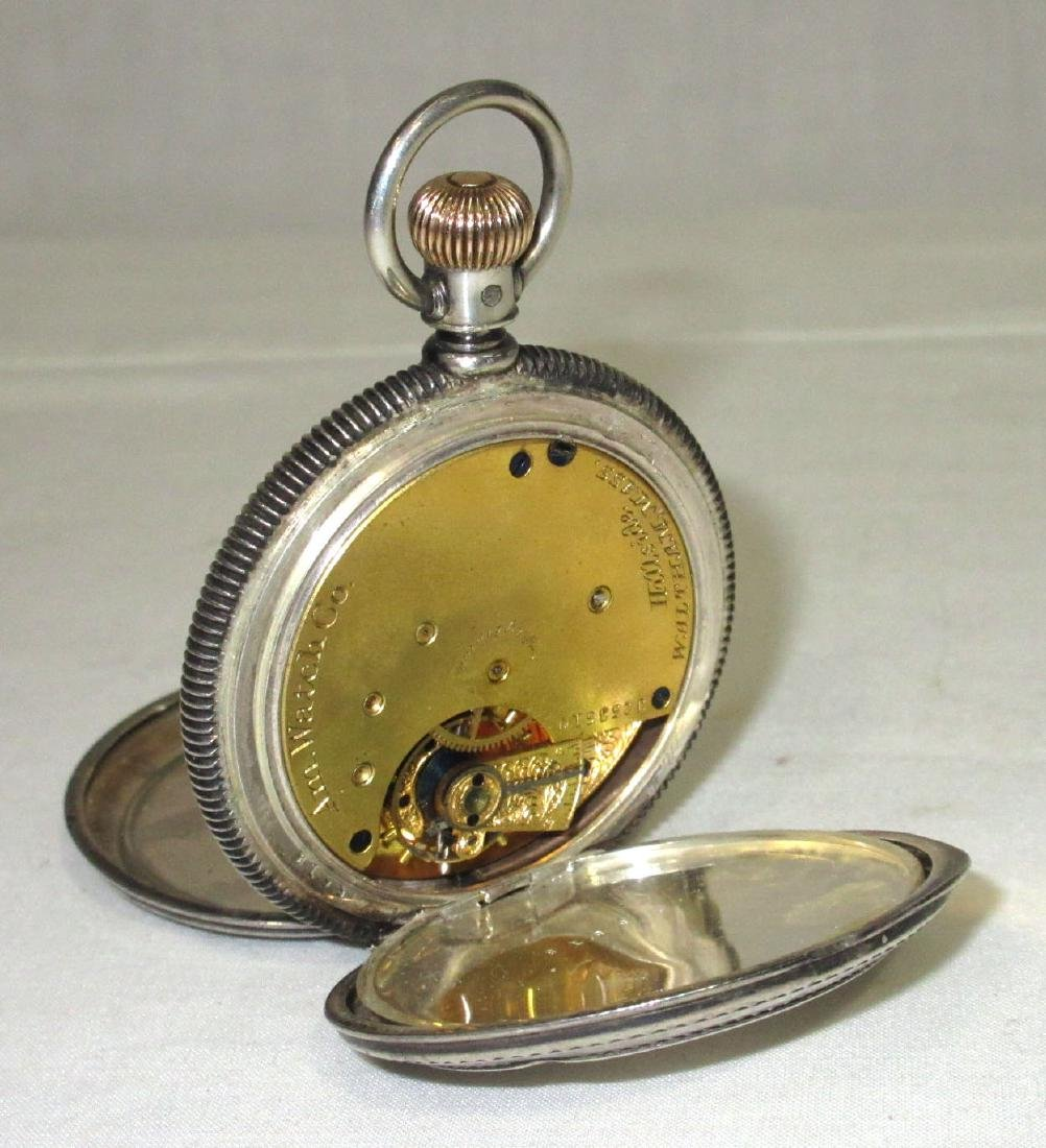 Waltham Coin Silver H.C. Pocket Watch - 2