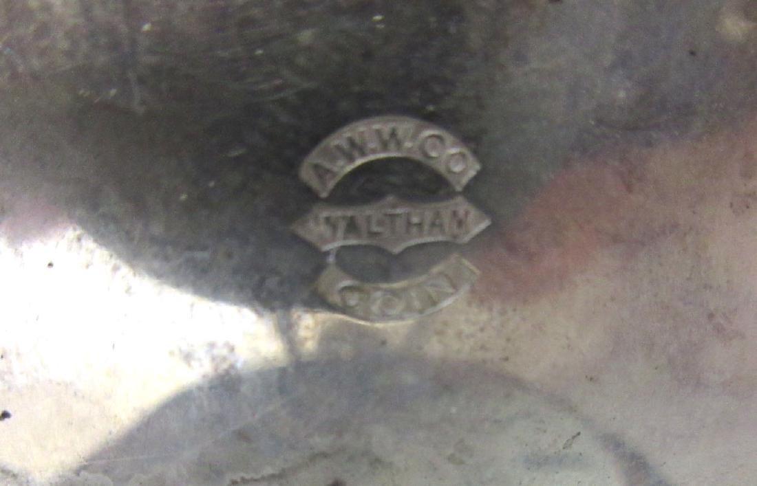 Waltham Coin Silver H.C. Pocket Watch - 4