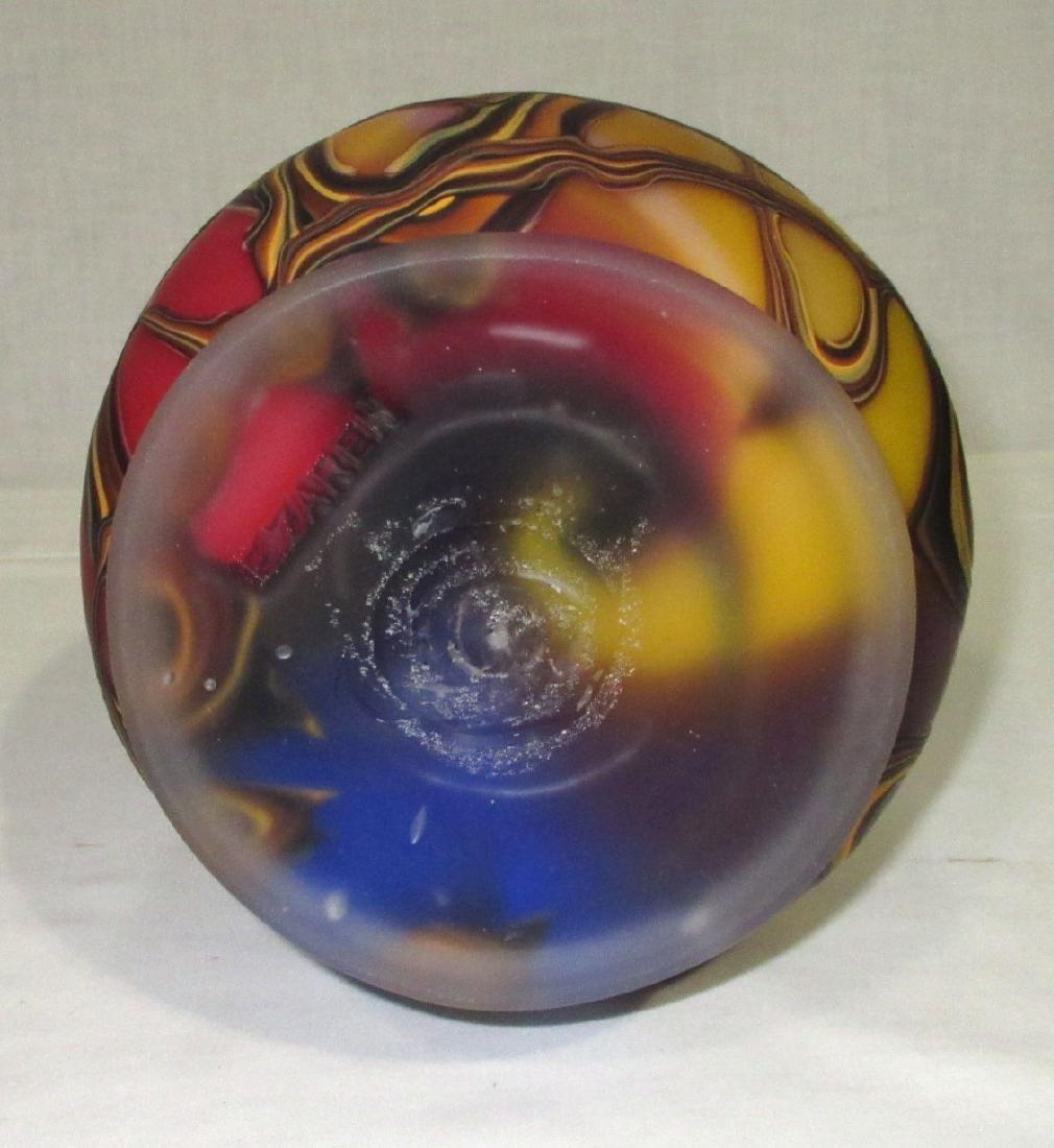 Lg. Art Glass Vase - 5