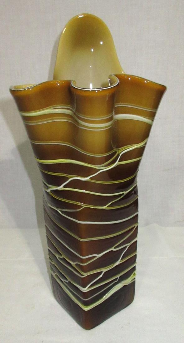 Lg. Art Glass Vase