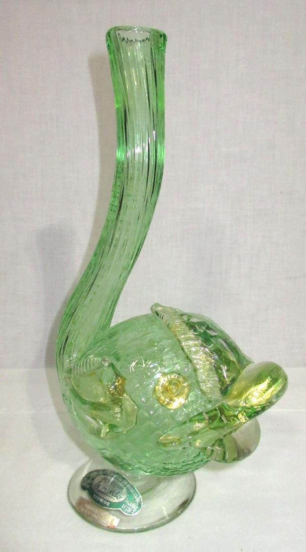 Murano Fish Vase