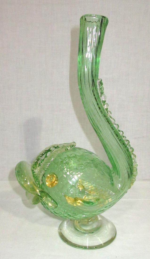 Murano Fish Vase - 3