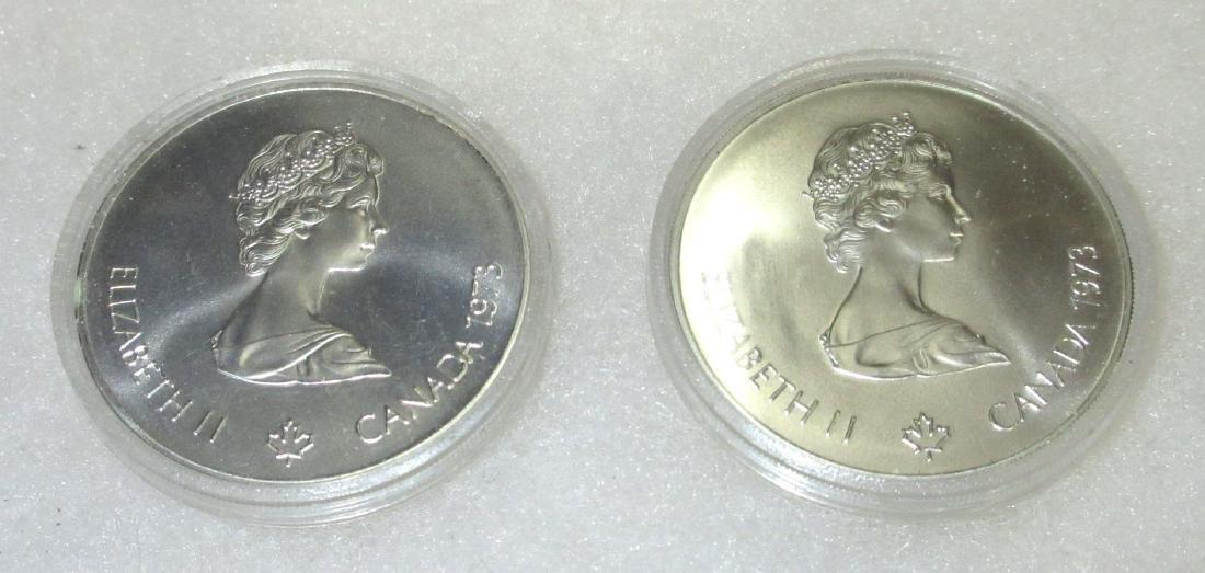 2 XXI Olympiad Silver Medallions - 2