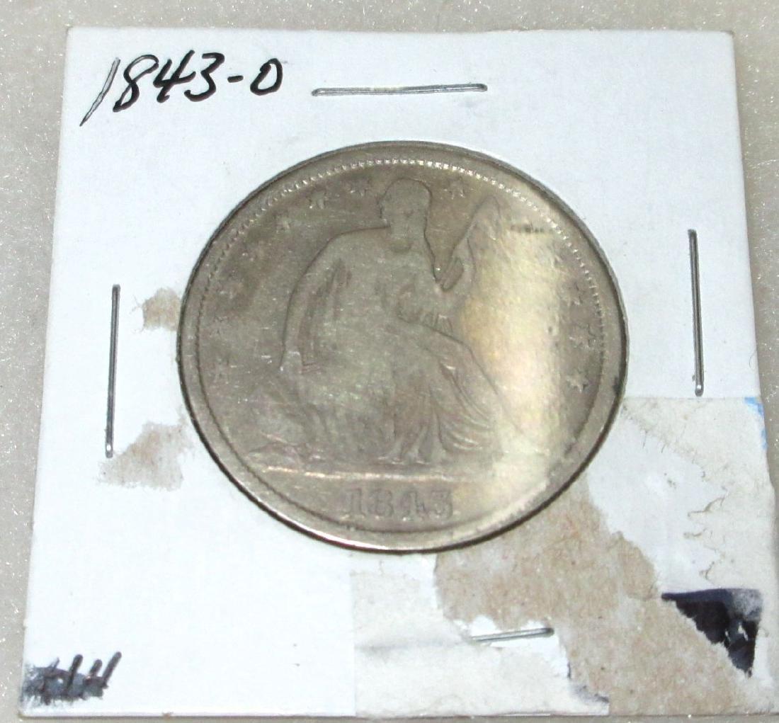 1843-O Half Dollar