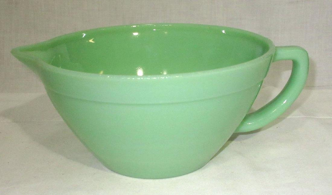 Jadeite Mixing Bowl - 2
