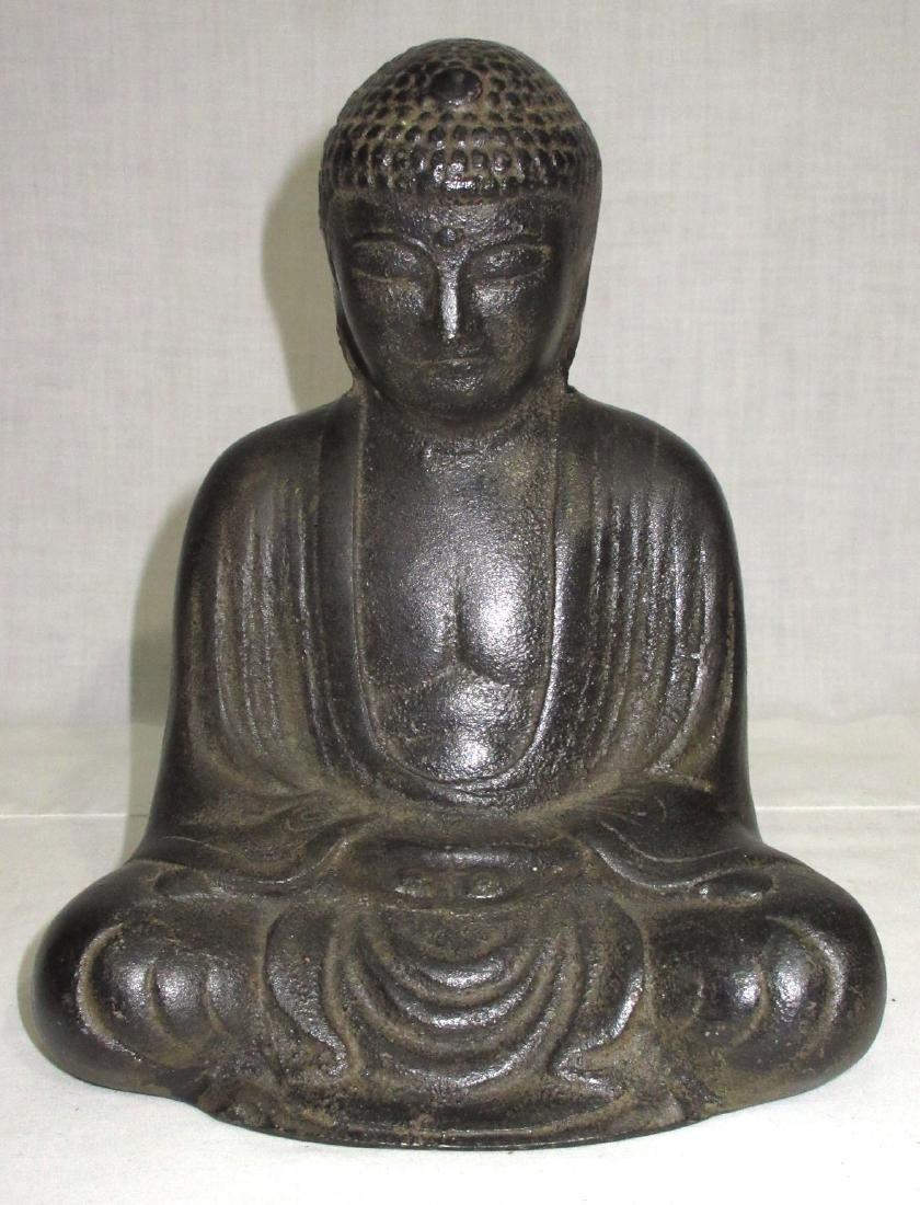 Iron Buddha Statue