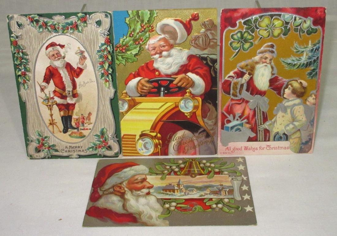 4 Christmas Postcards