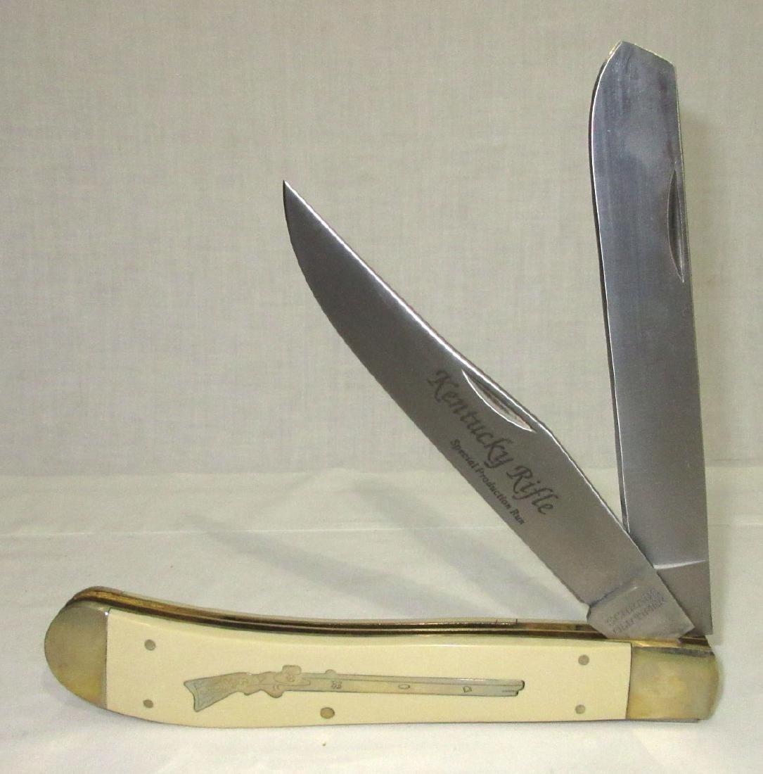 Huge Schrade Old Timer Adv. Display Pocket Knife