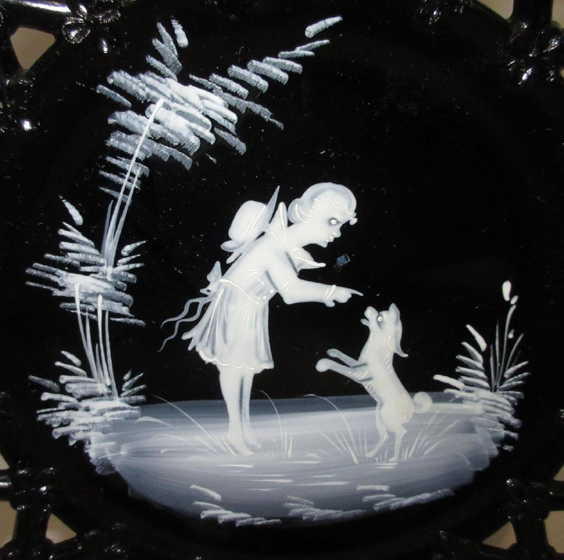 2 Mary Gregory Plates - 2