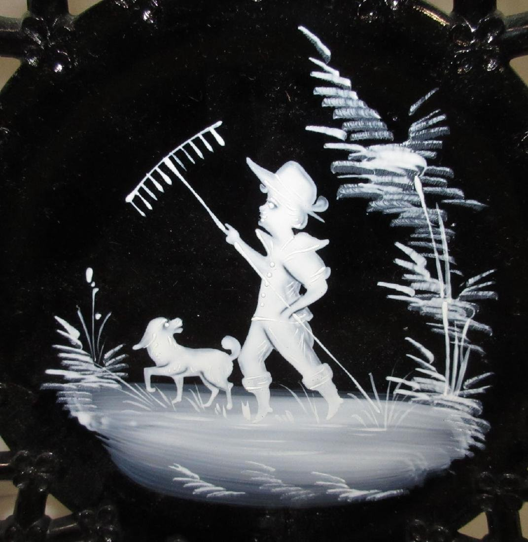 2 Mary Gregory Plates - 3