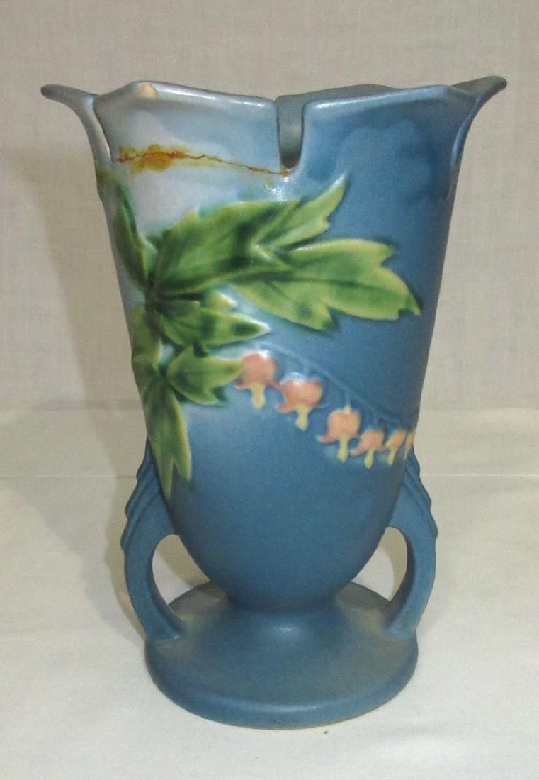 Roseville Bleeding Hearts Vase - 2
