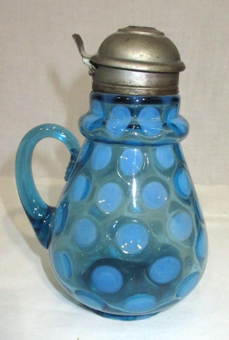 Vict. Blue Opalescent Syrup - 2