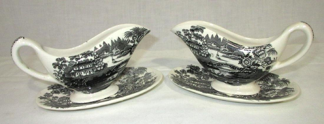 7pc Clarice Cliff Transferware - 3