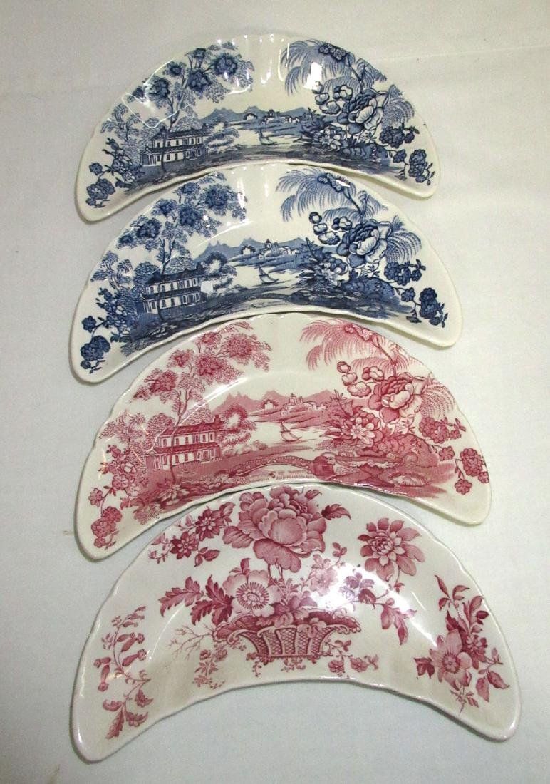 6pc Clarice Cliff Transferware - 2