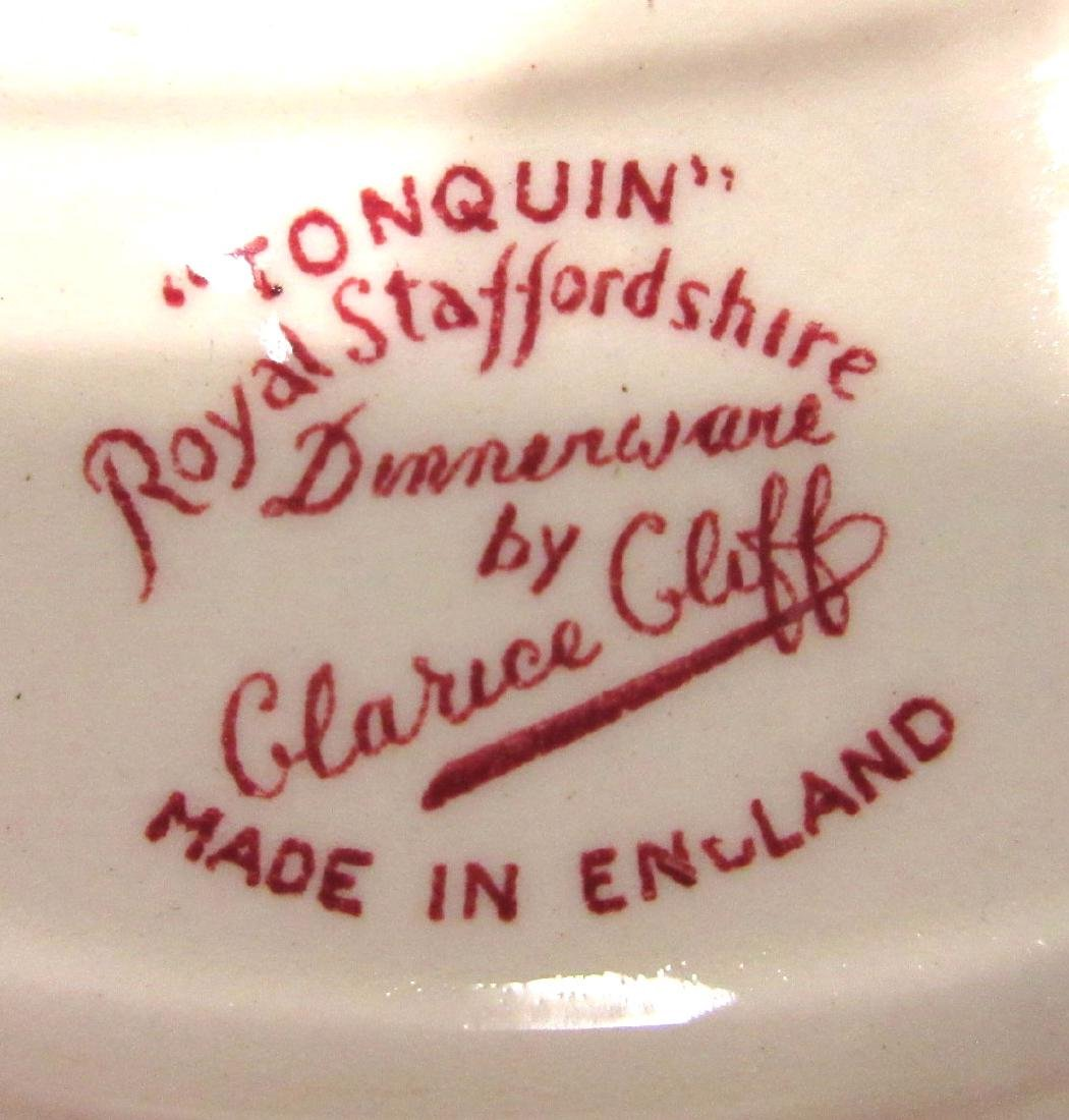 6pc Clarice Cliff Transferware - 4