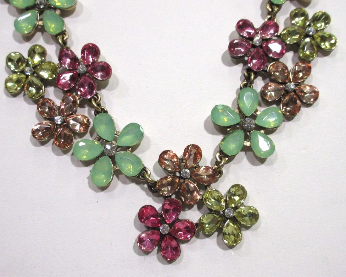 Costume Necklace & Earring Set - 2