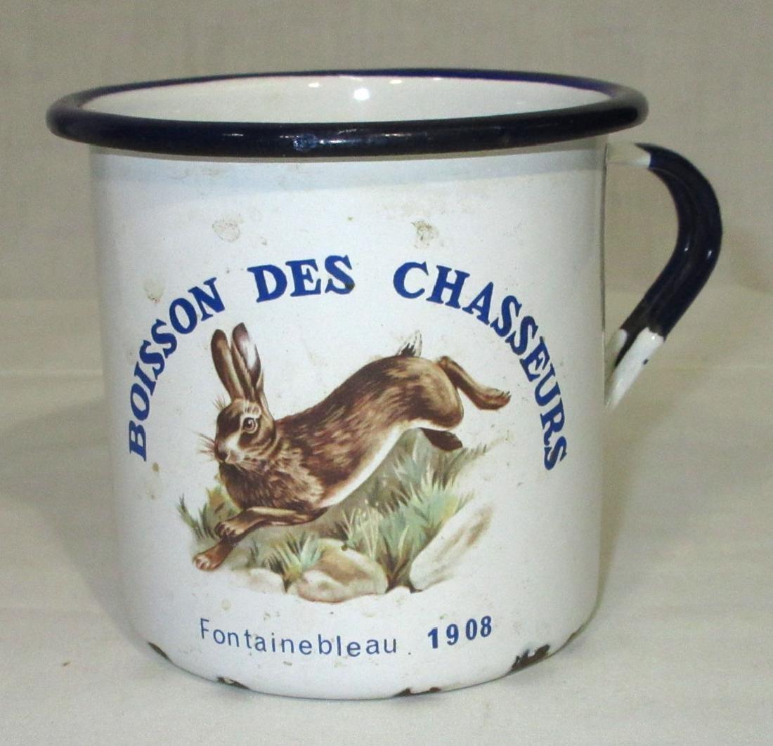 1908 Graniteware Mug