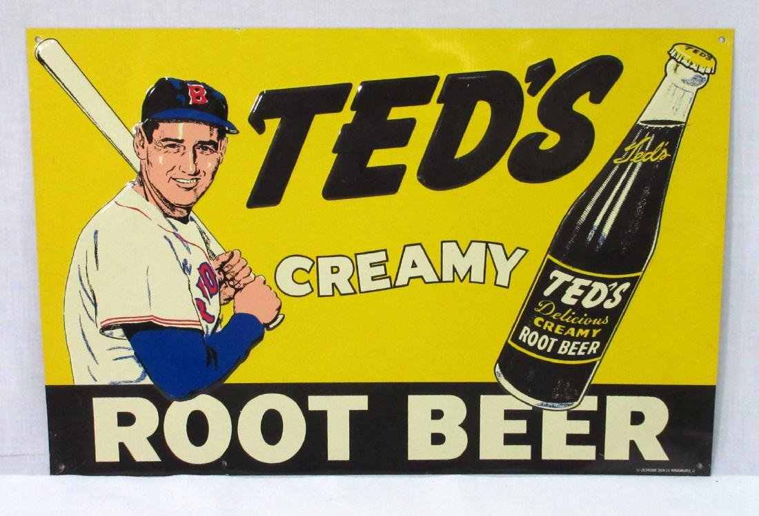 Modern Tin Ted's Root Beer Sign