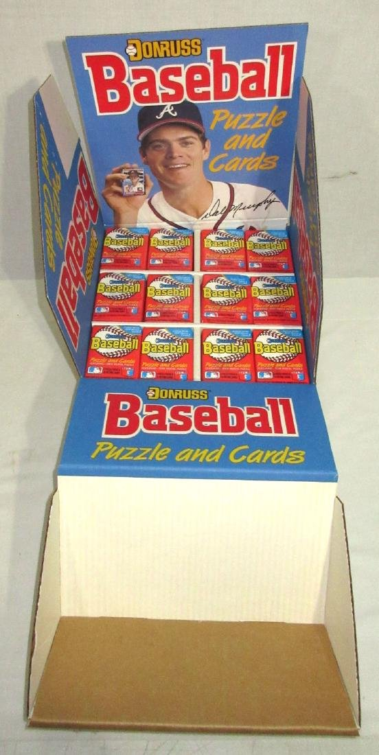 Box 1988 Donruss Baseball Wax Packs