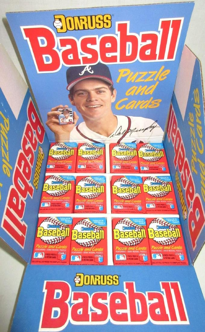 Box 1988 Donruss Baseball Wax Packs - 2