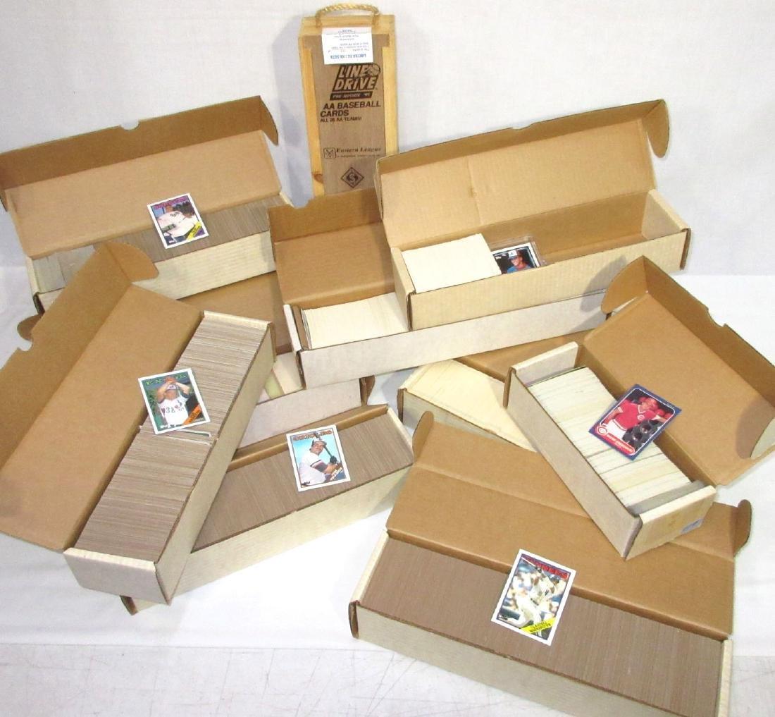 10 Boxes Baseball Cards