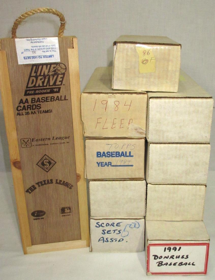 10 Boxes Baseball Cards - 2