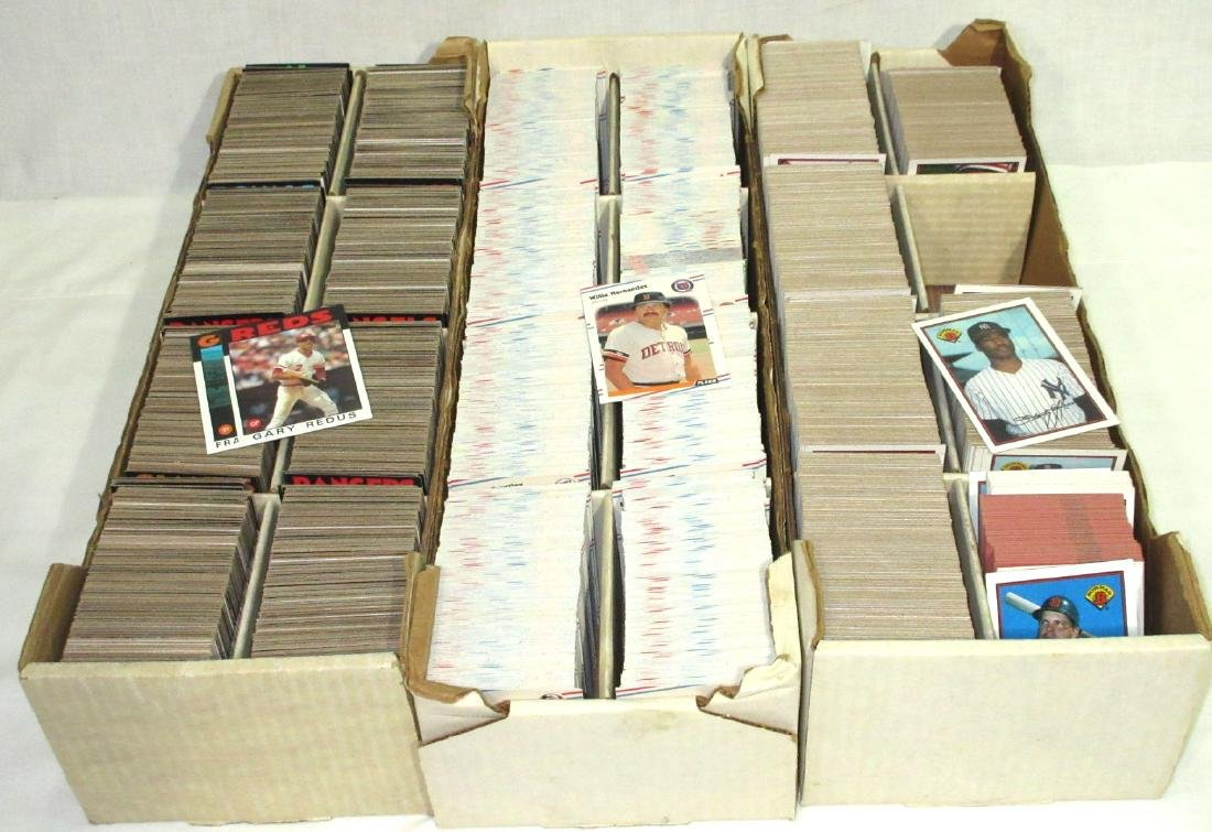 3 Boxes Baseball Cards