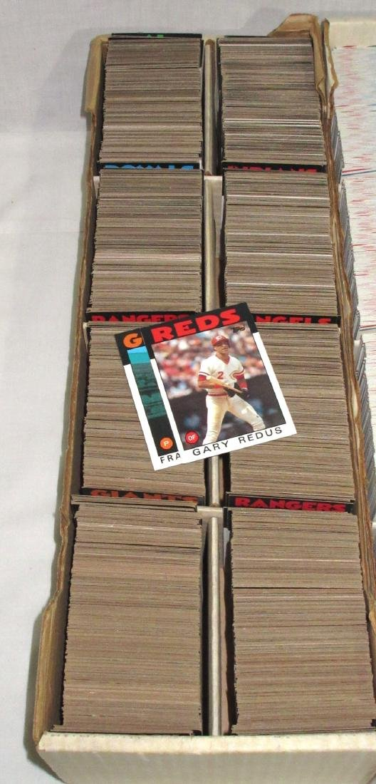 3 Boxes Baseball Cards - 2
