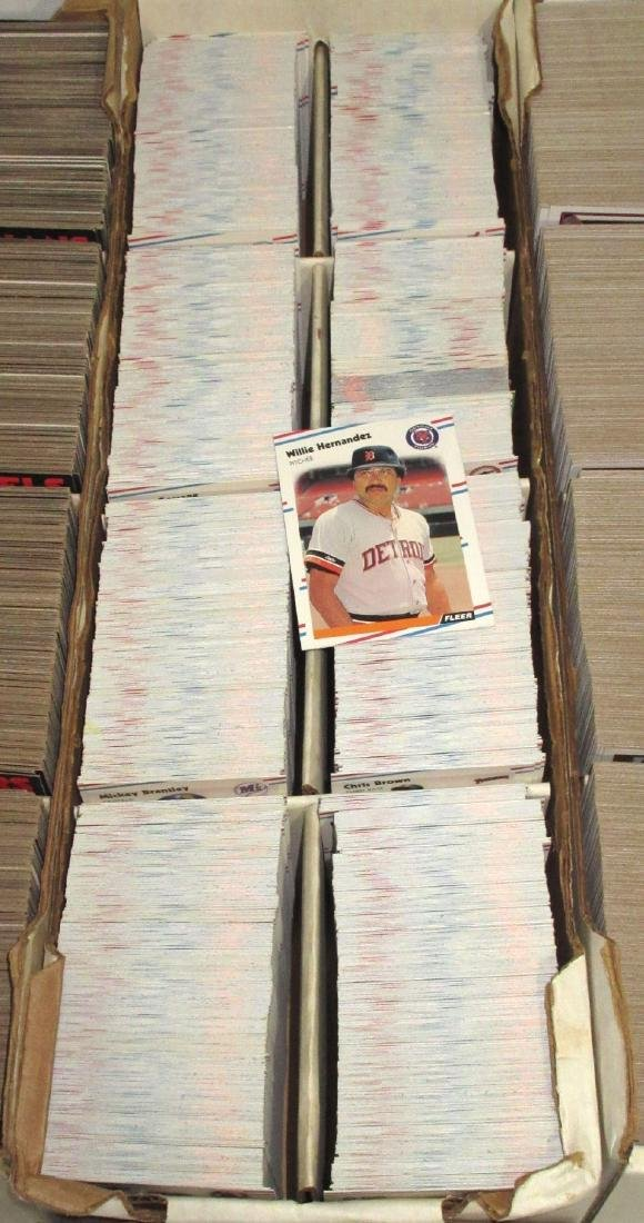 3 Boxes Baseball Cards - 3